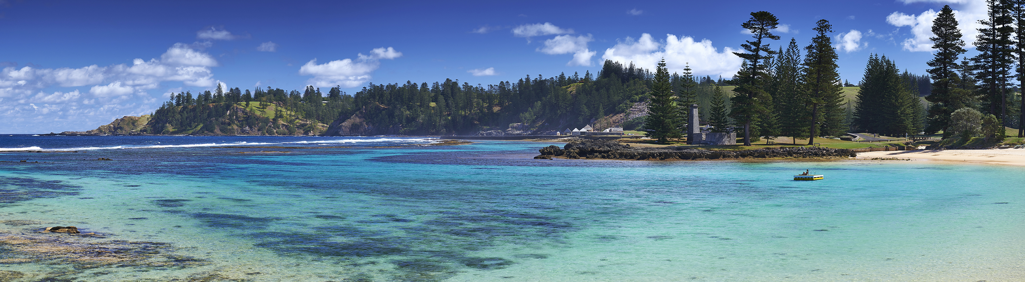 Norfolk Island beach scene